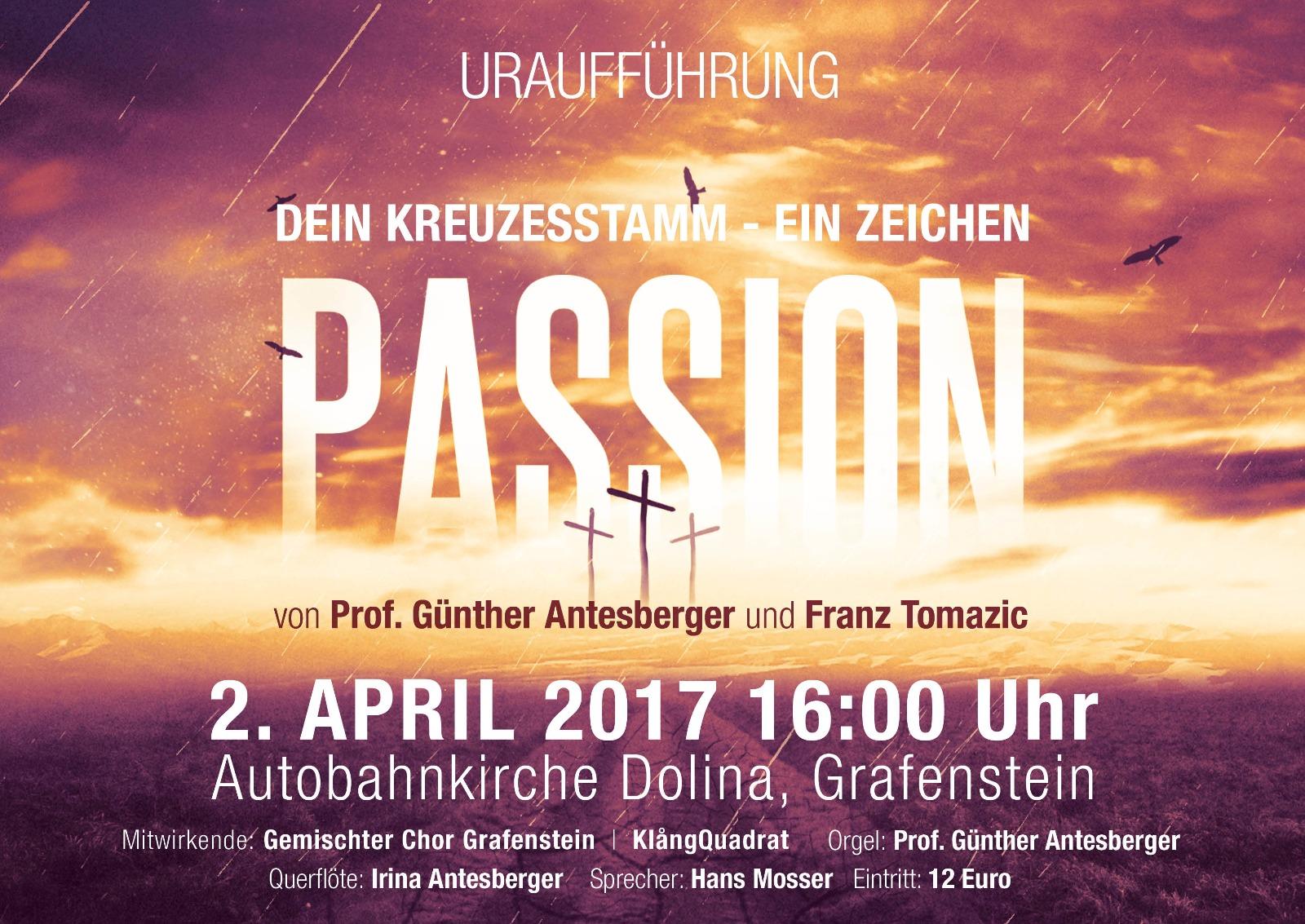 Passion - Plakat