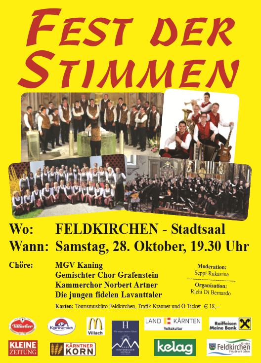 Feldkirchen Fest der Stimmen